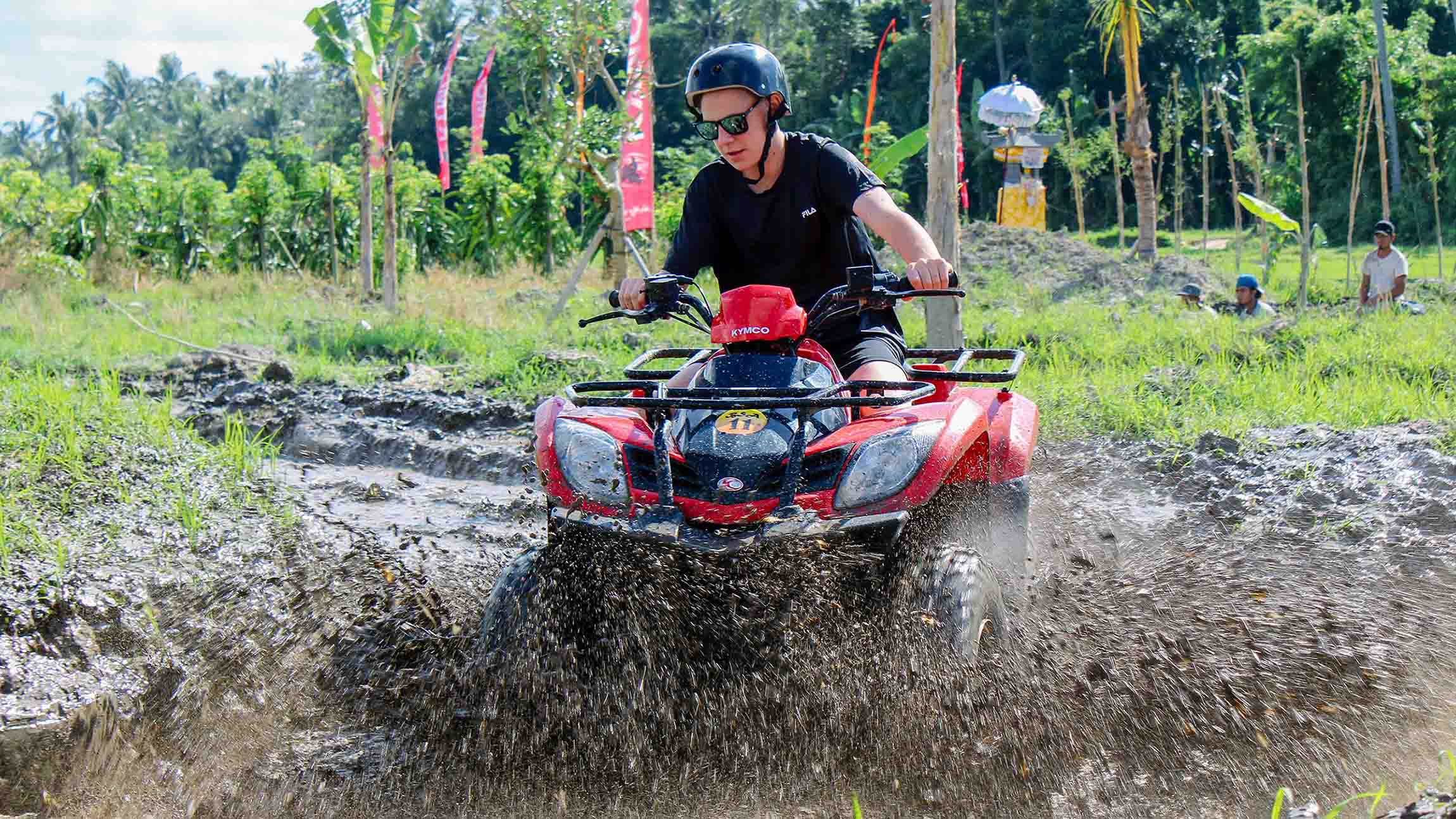 ATV and Lunch with Balinese House Compound